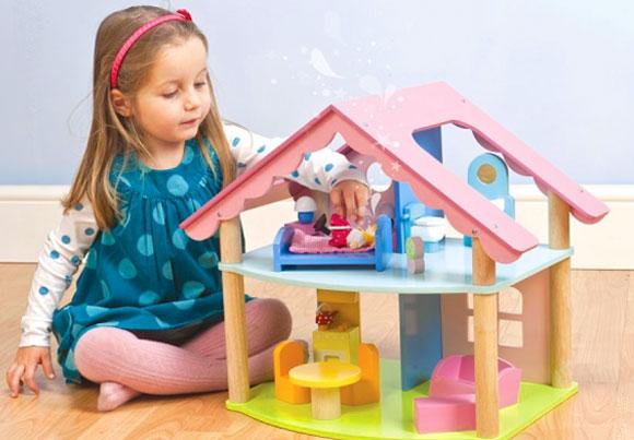 Дом кукол девочки 5 лет