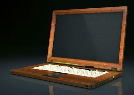 Ноутбук с драгоценным сортом древесины в подарок