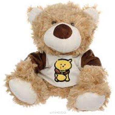 Медведь - магкая игрушка как добродушный подарок