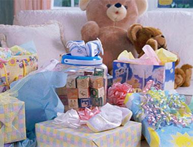 Выбор подарка для только что родившегося ребенка