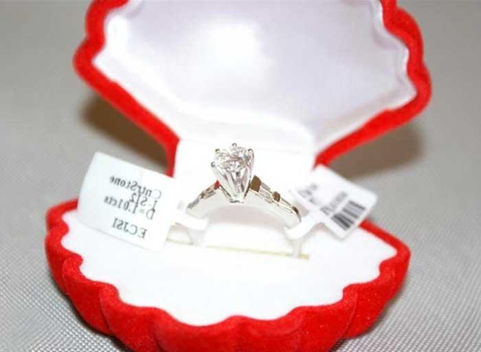 Кольцо с камнями драгоценными