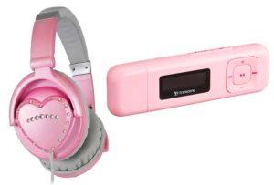 MP3-плеер и наушники для девочки 12 лет