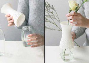 Красивая и необычная ваза своими руками