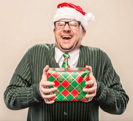 Новогодний прикольный подарок