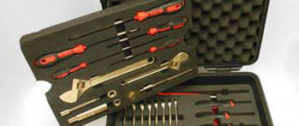 Набор инструментов в подарок для машины
