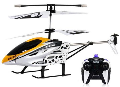 Выбор вертолета на радиоуправлении в подарок