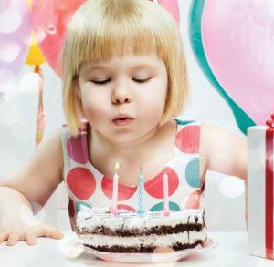 День рождения девочки 3 годика