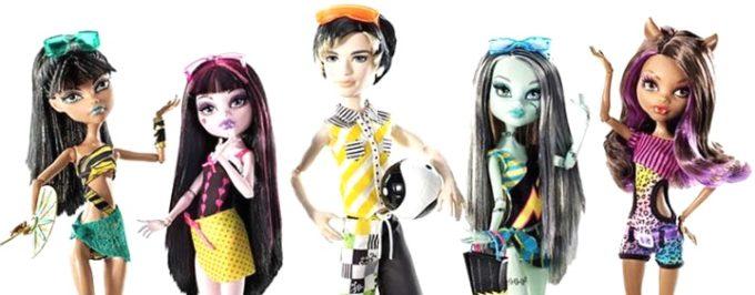 5 штук куклы по пояс