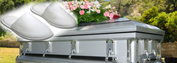 В гробу в белых тапочках