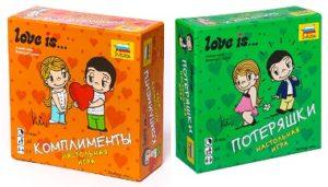 Две коробки настольных игр