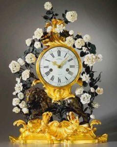 Уникальные антикварные часы