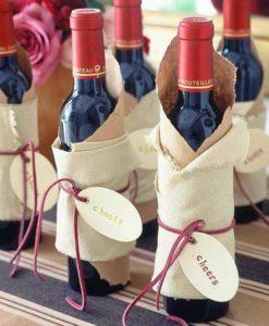 Бутылка хорошего вина в подарок