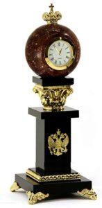 настольные часы с российской символикой