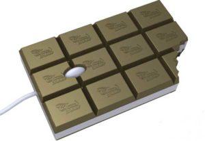 Мышка в виде шоколада