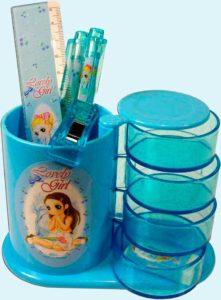 Настольный набор для канцтоваров детям
