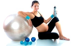 Мяч для фитбола для занятия беременных