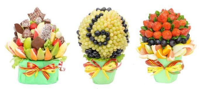 Композиция из фруктов