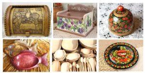Хлебницы и тарелки ручной работы