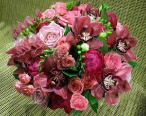 Изысканный букет цветов для руководителя