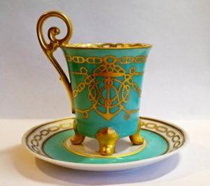 изысканного дизайна чашка