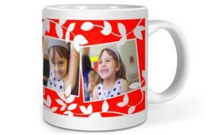 Чашка с фотографией именинницы