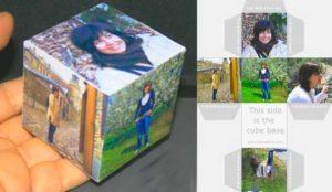 Кубик Рубика с фотографиями своими руками