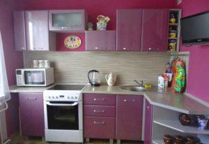 Кухня собранная своими руками