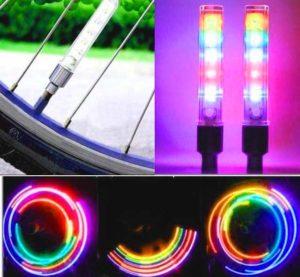 LED насадки для велосипеда
