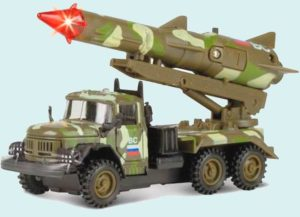 Макет военной машины