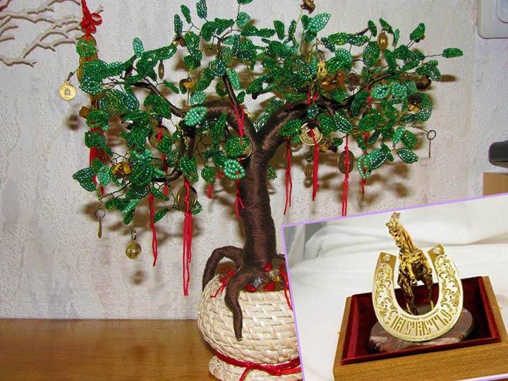 Денежное дерево и подкова