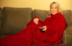 Одеяло с рукавами для свекрови