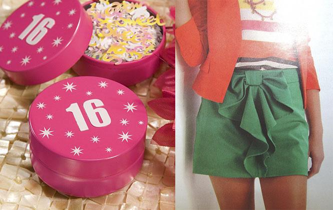 Подарки на 16 лет одежда девушки