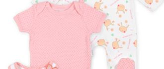 Одежда для новорожденных девочек