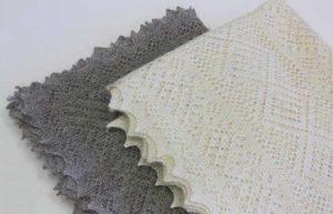 Теплый оренбургский платок для бабушки