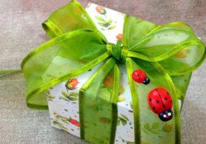 Оригинальная и красивая упаковка для подарка