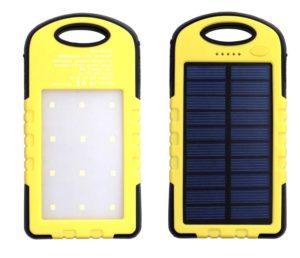 Аккумулятор для охотника на солнечных батареях
