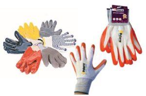 Перчатки для дачи - много разных
