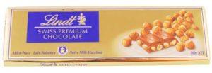 Плитка качественного швейцарского шоколада