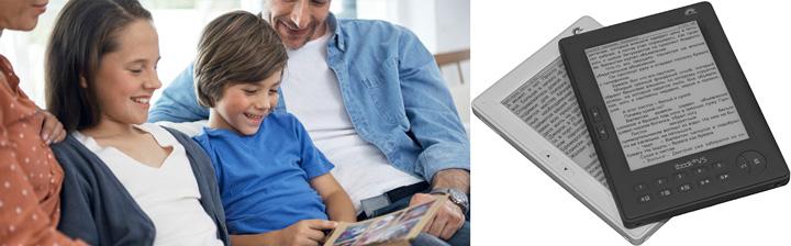 Электронные книги и семья