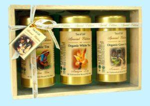 Подарочный набор с несколькими сортами чая