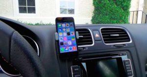 Подставка для мобильного телефона в автомобиль