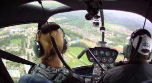 Полет на малогабаритном самолете