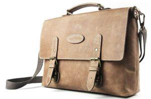 Дорогой кожаный портфель