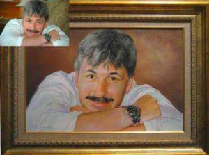 Портрет юбиляра в подарок