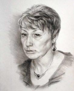 Нарисованный портрет