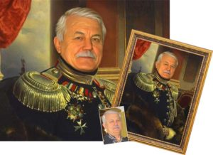 Портрет в подарок на юбилей 60 лет мужчине