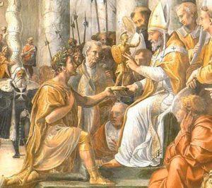 Подношение даров в Древнем Риме правителю