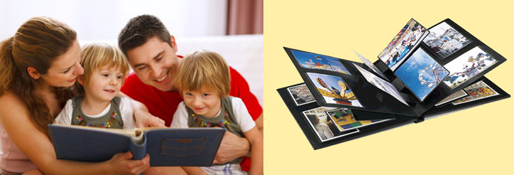 Фотоальбом семейный и семья