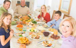 Семейный ужин в подарок
