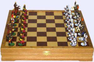 Шахматы в подарок военному